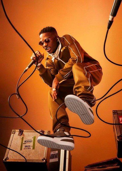 Puma Announces Wizkid As Brand Ambassador In Cute Campaign Images