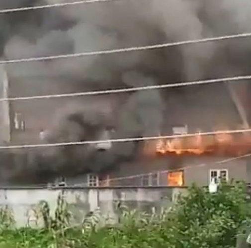Lagos Governor Sanwo Olu Family House Set On Fire