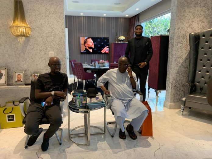 Atiku Abubakar Celebrates His 74th Birthday In Style At His Dubai Villa (Video/Photos)