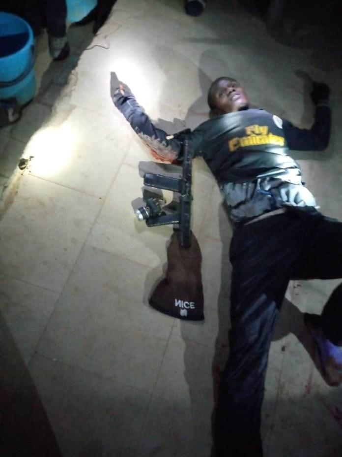 Graphic Photo: Police Kill Arm Robber In Katsina State