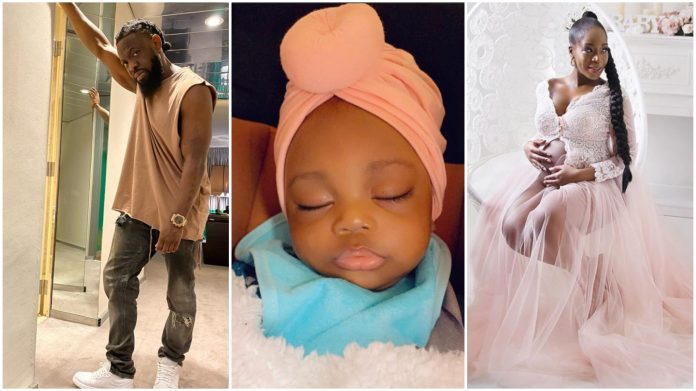 Timaya Unveils Adorable Pictures To Cerebrate His Daughter As She Clocks 6 Months