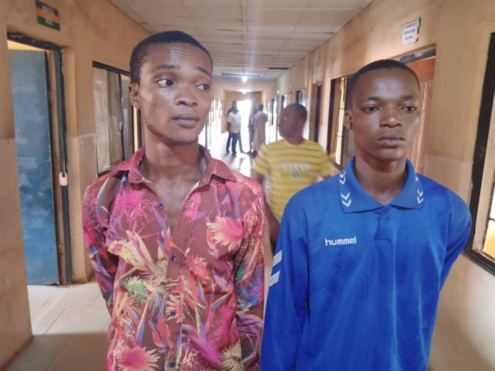 2 Young Men Arrested For kidnapping And Gang Raping A 14-year-old Girl In Ogun