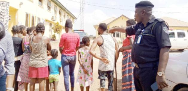 Police Bursts Baby Factory, Rescued 10 Pregnant Girls And Kids, Make Arrests