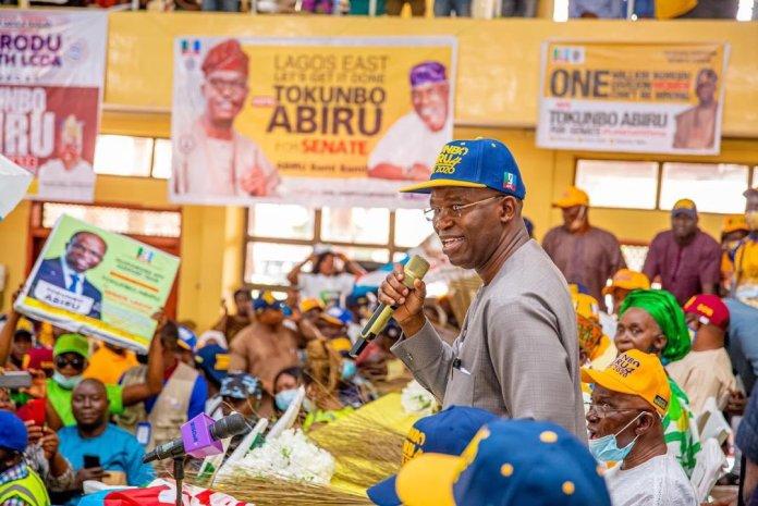 Senator Abiru Of APC Clinch Lagos-east Senatorial Seat In A Landslide Victory