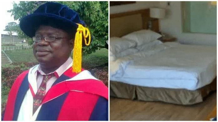 Osun Polytechnic Rector Suspended For Fixing King-size Bed In His Office