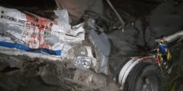 Many Dead As Two Buses Involves In A Ghastly Accident In Abia State (Graphic Photos)