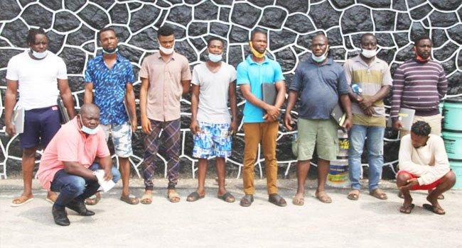 EFCC suspects