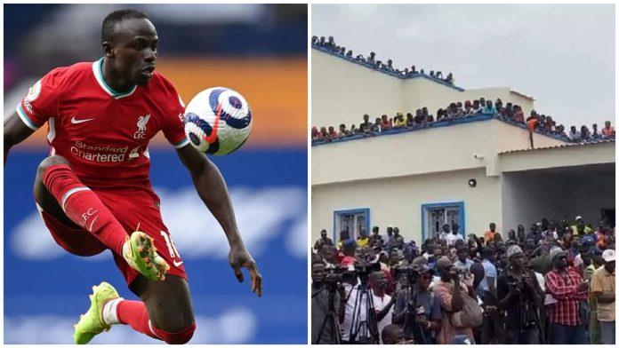 Liverpool Star, Sadio Mane Unveils  €530,000 Hospital In His Senegal Hometown
