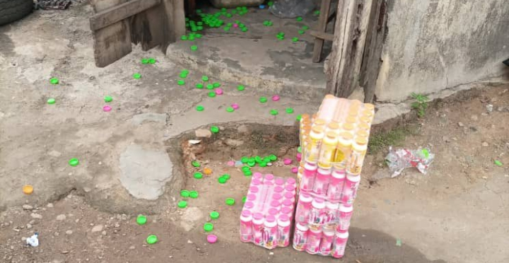 Police Allegedly K!lled A Female Street Trader While Shooting At Yoruba Nation Agitators (Graphic Photo)