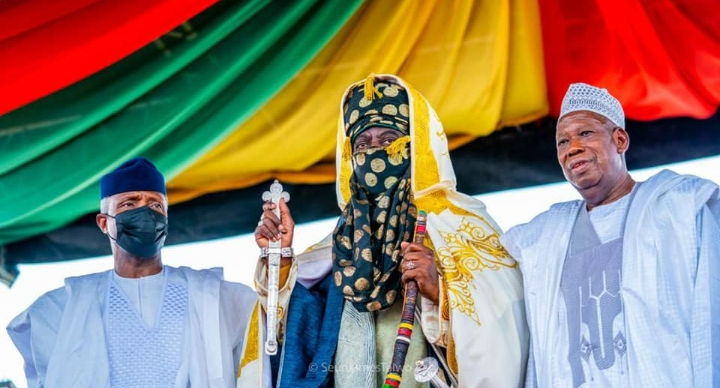 Vice President In Attendance As New Emir Of Kano Is Enthroned (Photos)