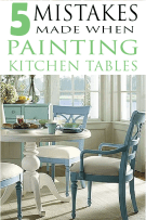 Paint Dining Room Table Biggest Mistakes People Make Painting Kitchen Freshsdg