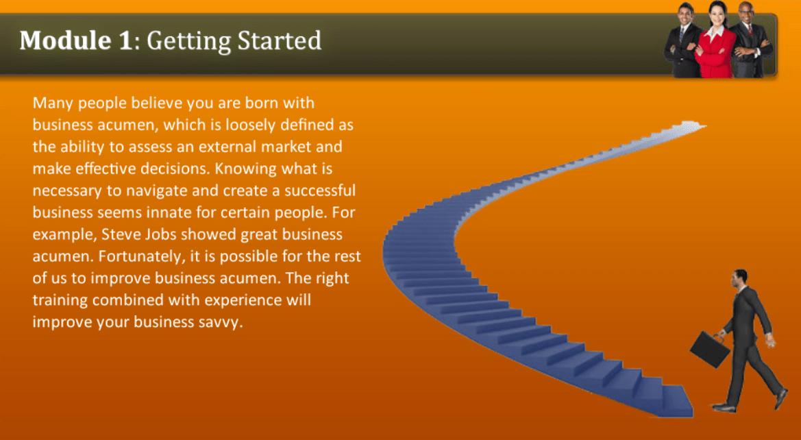 Getting Started Business Acumen Freshskills