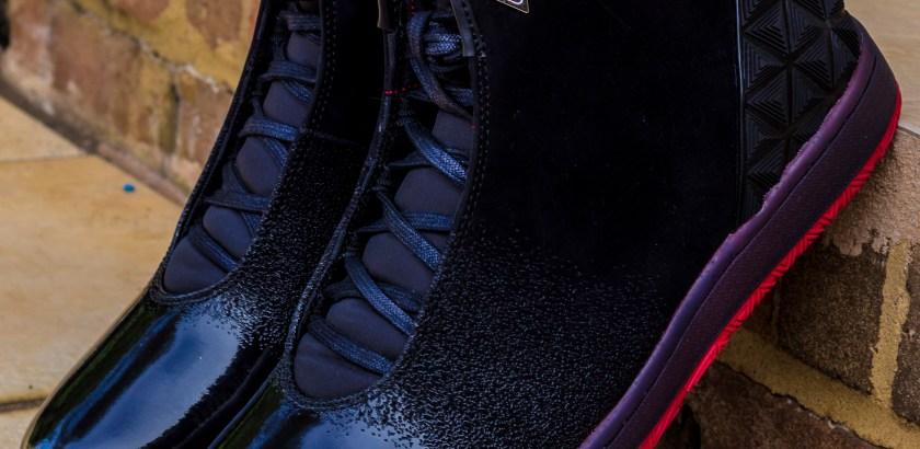 Jordan Instigator – Black/ Gym Red