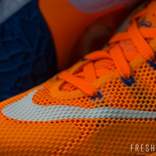 Lebron XII Low Orange 4