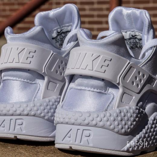 Nike Air Huarache White 2