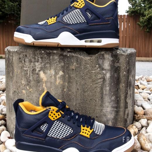 in stock 956ca 916bb Fresh Sneaker Boutique   Air Jordan 4 Retro - Navy Blue ...