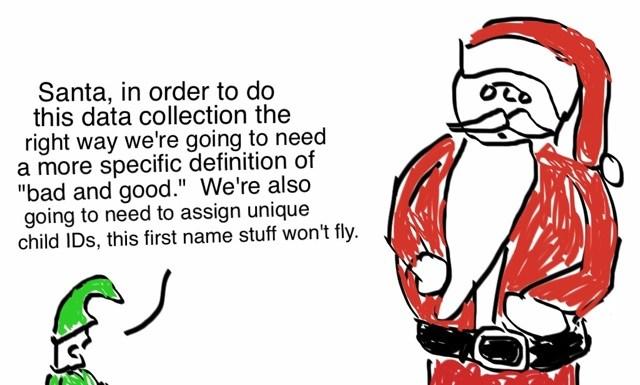 Toon: How Santa Gets His Data