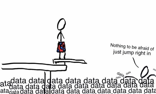 Swimming in data