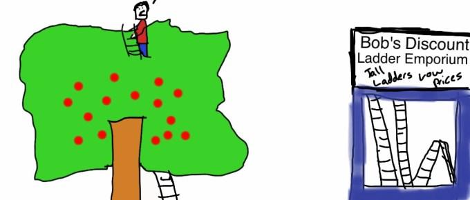 Secret Last Page from Matt Keene's Missing the Fruit for the Ladder