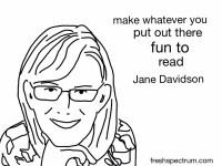 Jane Davidson Advice