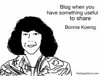 Bonnie Koenig Advice