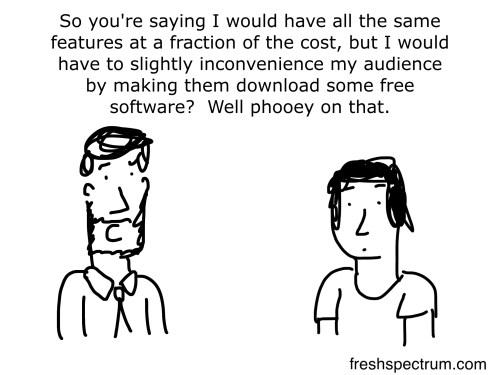 Inconvenience cartoon by Chris Lysy