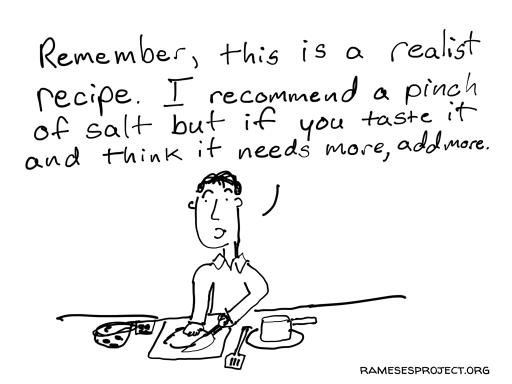 Realist Recipe