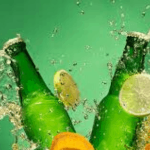 Soft drinks, water and mixers