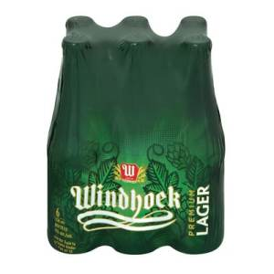 Windhoek Lager Bottles 6x330ml