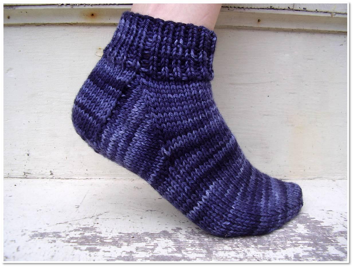 Free Sock Knitting Pattern For Beginner's Freshstitches