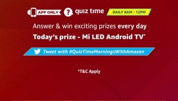 Amazon Quiz Contest Today [3rd June 2019 Amazon Quiz Answers]