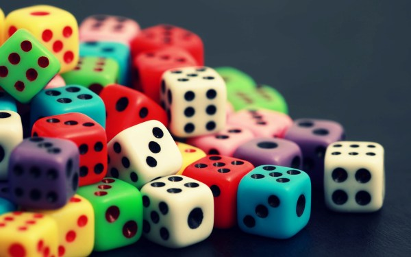 Dices Colorful Wallpapers