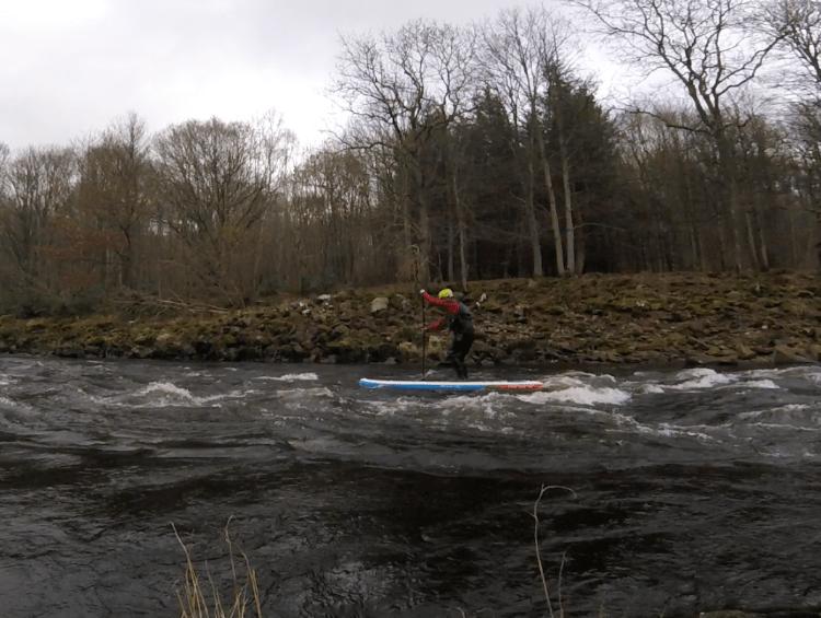 whitewater paddleboarding UK