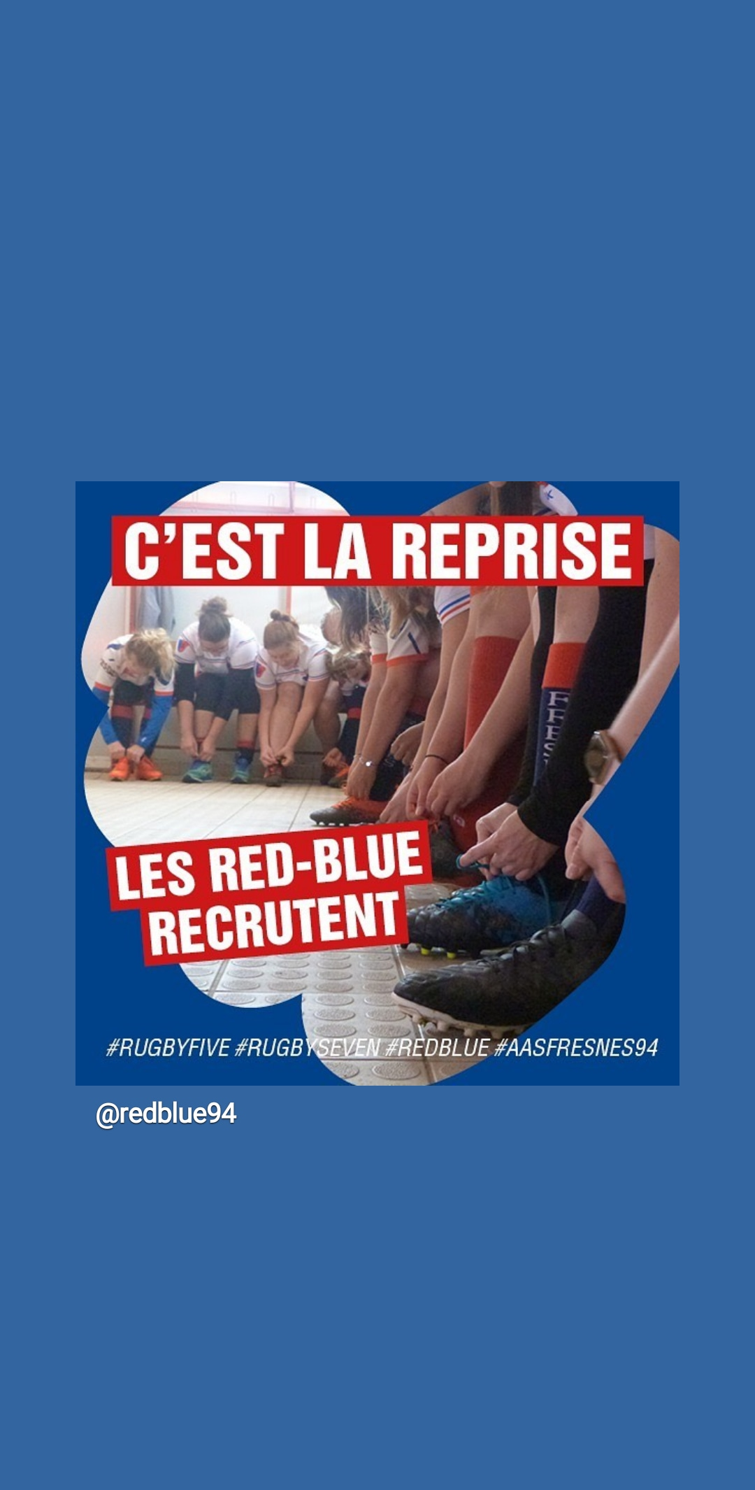 Read more about the article Les Red-Blue vous attendent