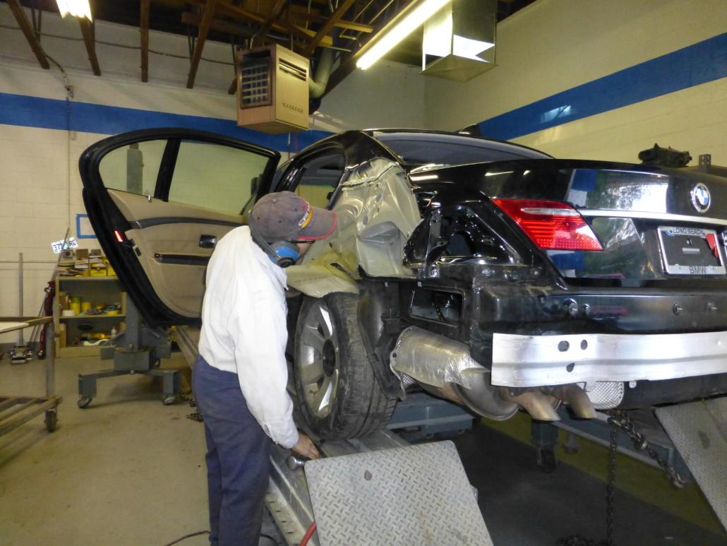 Fixing Auto Body Damage With Our Fresno Auto Body Shop