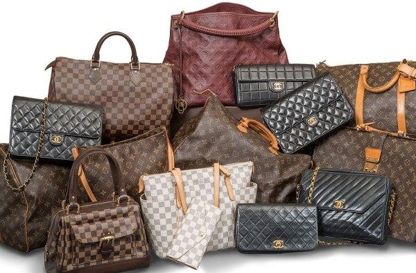 Designer Handbags, Authentic Gently Loved Louis Vuitton