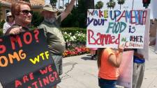 March Against Monsanto in Fresno California