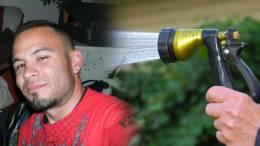 Fresno police shoot man holding water nozzle