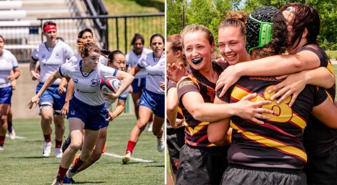 Women's collegiate rugby