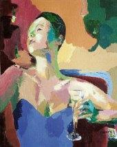 Claire Fresson : Femme et champagne