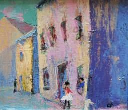 Rue à la ballerine