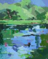 Promenade aux étangs 3 (38x45)