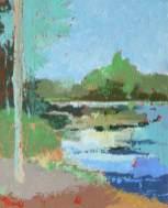 Promenade aux étangs 2 (38x45)