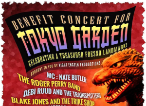 Get your tickets now: Benefit concert for Tokyo Garden is Dec. 9
