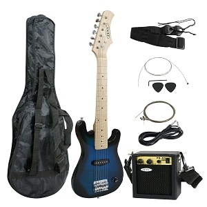 SMARTXCHOICES GUITARS 30 INCH KIDS ELECTRIC GUITAR WITH 5W AMP