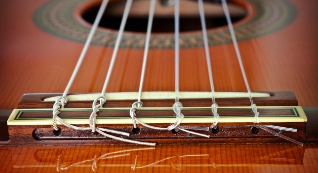 Strings on Classical Guitars-min