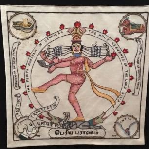 Scottish Indian Diaspora embroidery