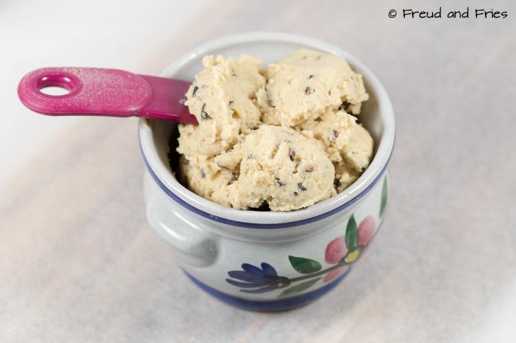 Eetbaar koekjesdeeg [rauw, eiwitrijk] | Freud and Fries