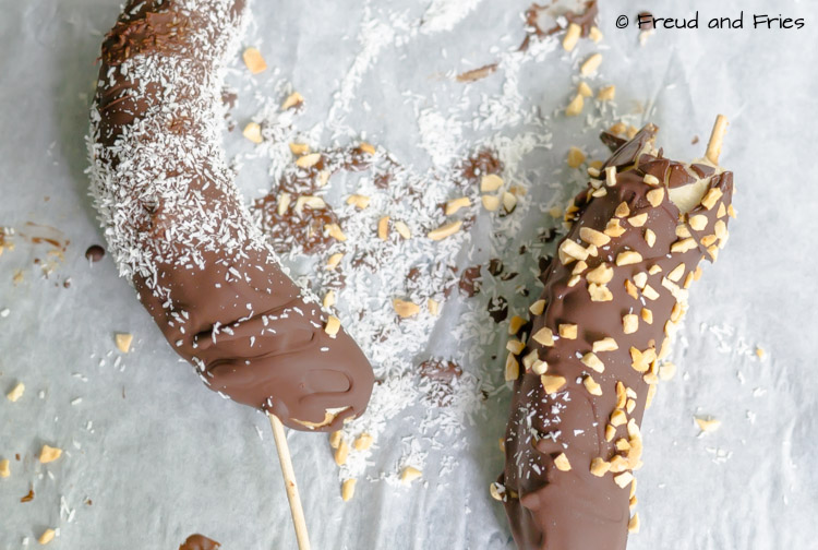 Choco-banana pops | Freud and Fries