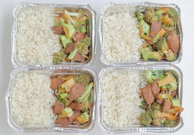 Monday Meal Prep- broccoli, kip en rijst | Freud and Fries
